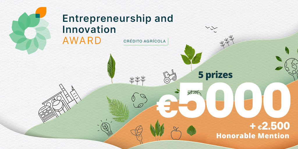 Entrepreneurship and Innovation Award - Crédito Agrícola